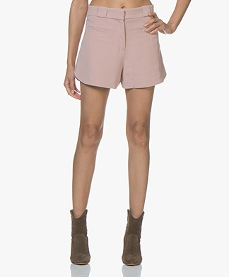 IRO Spicy Crepe Shorts - Nude