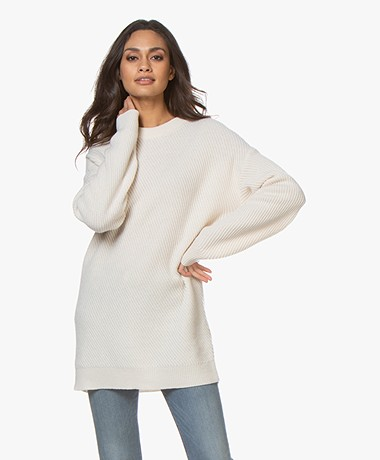 Filippa K Rebecca Rib Sweater - Almond White