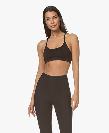 Filippa K Soft Sport Seamless Bra Top - Zwart