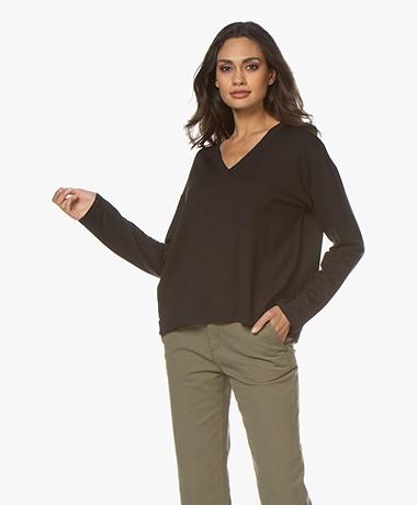 Rag & Bone Surplus V-neck Sweater - Black