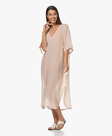 Filippa K Soft Sport Beach Kaftan - Smoky Peach
