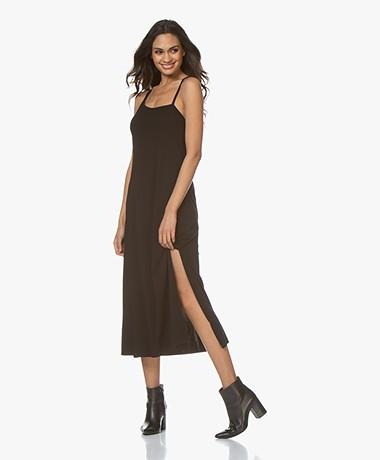 Filippa K Soft Sport Asymmetric Kaftan Dress - Black