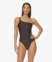 Filippa K Soft Sport Asymmetric Swimsuit - Black