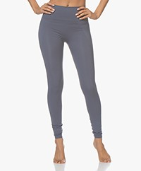 Filippa K Soft Sport High Seamless Legging - Misty Blue