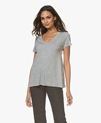 American Vintage T-shirt Jacksonville - Heather Grey