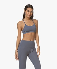 Filippa K Soft Sport Seamless Bra Top - Misty Blue