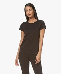 Organic Basics SilverTech™ Active T-shirt - Zwart