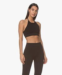Filippa K Soft Sport Seamless Halter Top - Zwart