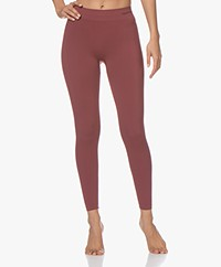 Organic Basics SilverTech™ Active Leggings - Burgundy