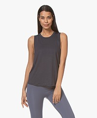 Filippa K Soft Sport Tencel Muscle Tank - Storm Blue