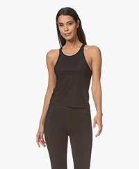 Filippa K Soft Sport Cropped Soft Top - Zwart