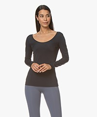Filippa K Soft Sport Double-scoop T-shirt - Night Sky