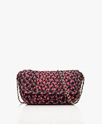 MKT Studio Baco Spaghetti Shoulder Bag - Black/Pink/Blue