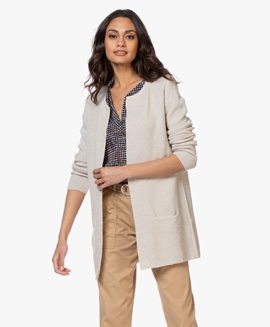 Sibin/Linnebjerg Mary Short Cardigan in Merino Blend - Kit