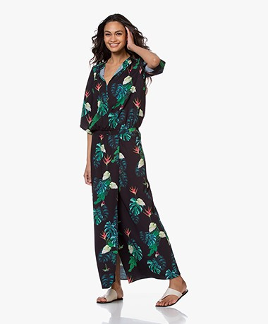 LaDress Samantha Maxi Dress - String Leaves