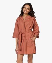 Vanessa Bruno Naomi Cotton Poplin Tunic Dress - Blush