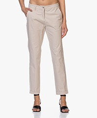 Repeat Stretch-katoenen Chino - Beige
