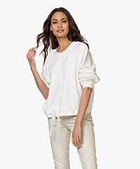 Closed Pure Cotton Sweatshirt - Ivory