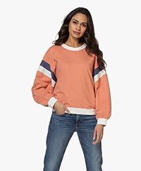 ba&sh Maurry French Terry Sweatshirt - Pink