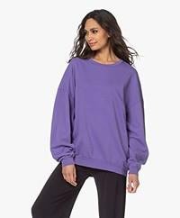 American Vintage Feryway Oversized Sweater - Purple Vintage