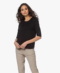 Filippa K Claire Merino Blend Sweater - Black