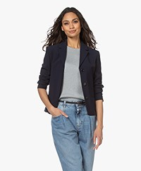 Filippa K Maylene Sustainable Tailored Jacket - Navy