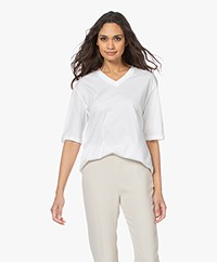 Filippa K Matilda V-Neck T-shirt - White