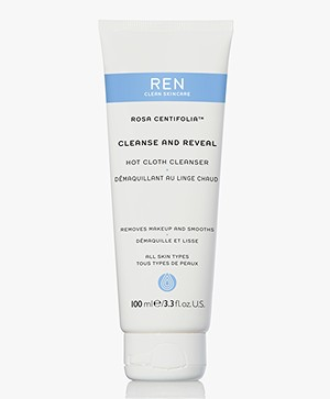 REN Clean Skincare Rosa Centifolia Cleanse And Reveal Hot Cloth Cleanser