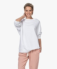 Filippa K Soft Sport Seam Oversized Sweatshirt - White