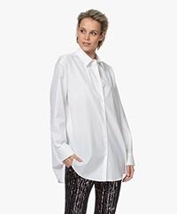 IRO Kanok Oversized Poplin Overhemdblouse - Wit