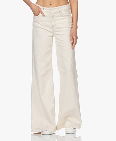 Closed Glow-Up Flared Stretch Jeans - Crème