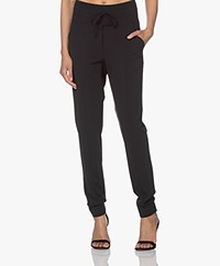 Josephine & Co Craig Travel Jersey Pants - Black