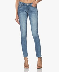 Denham Spray Distressed Super Tight Fit Jeans - Lichtblauw