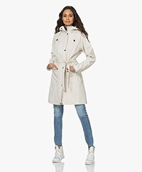 Ilse Jacobsen RAIN70 Mid Length Rain Coat - Milk Cream