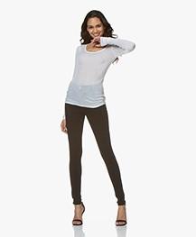 Rag & Bone High Rise Skinny Jeans - Zwart