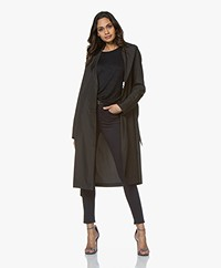 Filippa K Victoire The Eternal Trench Coat - Zwart