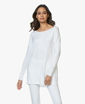 By Malene Birger Alloi Jersey Tuniek - Wit