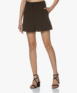 BY-BAR Lexi Crepe Shorts - Black