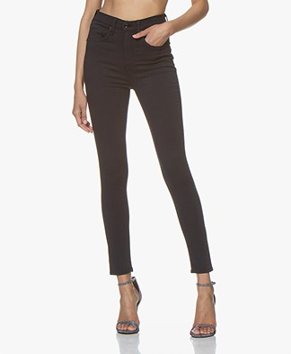 Rag & Bone High Rise Ankle Skinny Jeans - Navy