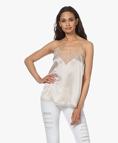 IRO Berwyn Silk Camisole - Natural