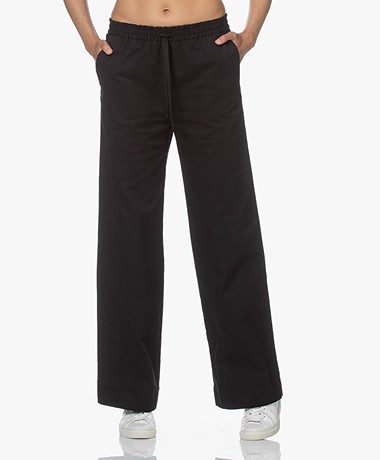 Filippa K Gillian Organic Cotton Pants - Black