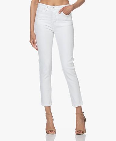 IRO Gallowa Stretch Cotton Jeans - White