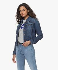 Drykorn Somerton Cotton Denim Jacket - Blue