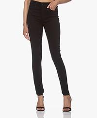 Rag & Bone Nina High-Rise Skinny Jeans - Zwart