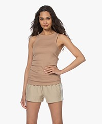 By Malene Birger Amiee Tank Top - Chanterelle
