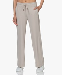 JapanTKY Myza Straight Travel Jersey Pants - Sand