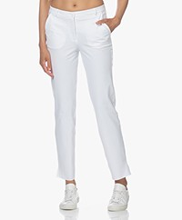 JapanTKY Sona Travel Jersey Pants - White