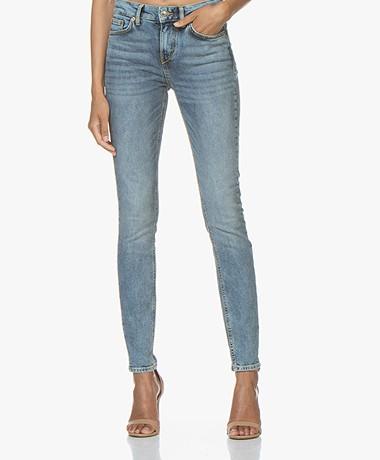Drykorn Pull Skinny Jeans - Middenblauw