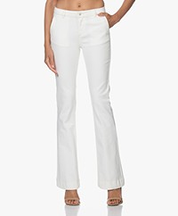 by-bar Leila Flared Jeans - Off-white