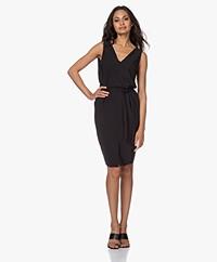 studio .ruig Juni Sleeveless Travek Jersey Dress - Black